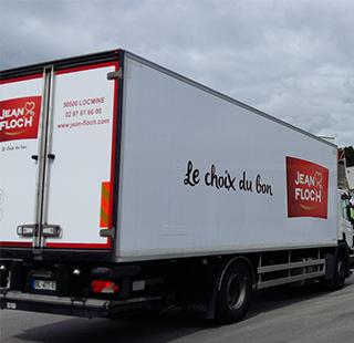 Camion de transport Jean Floc'h