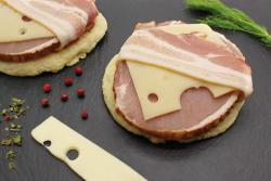 Palet fromager au bacon clermont